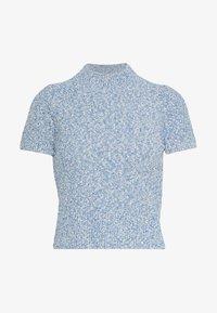 sandro - GINNA - T-shirt - bas - ciel - 0