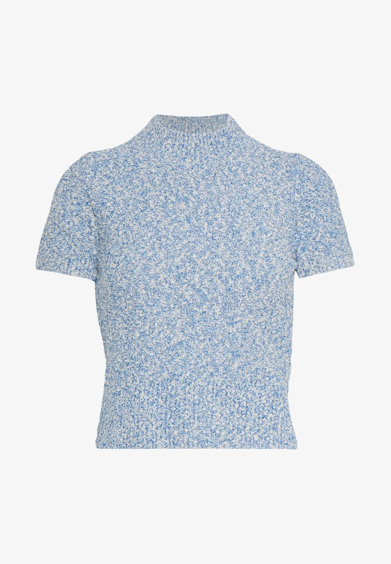 sandro - GINNA - T-shirt - bas - ciel