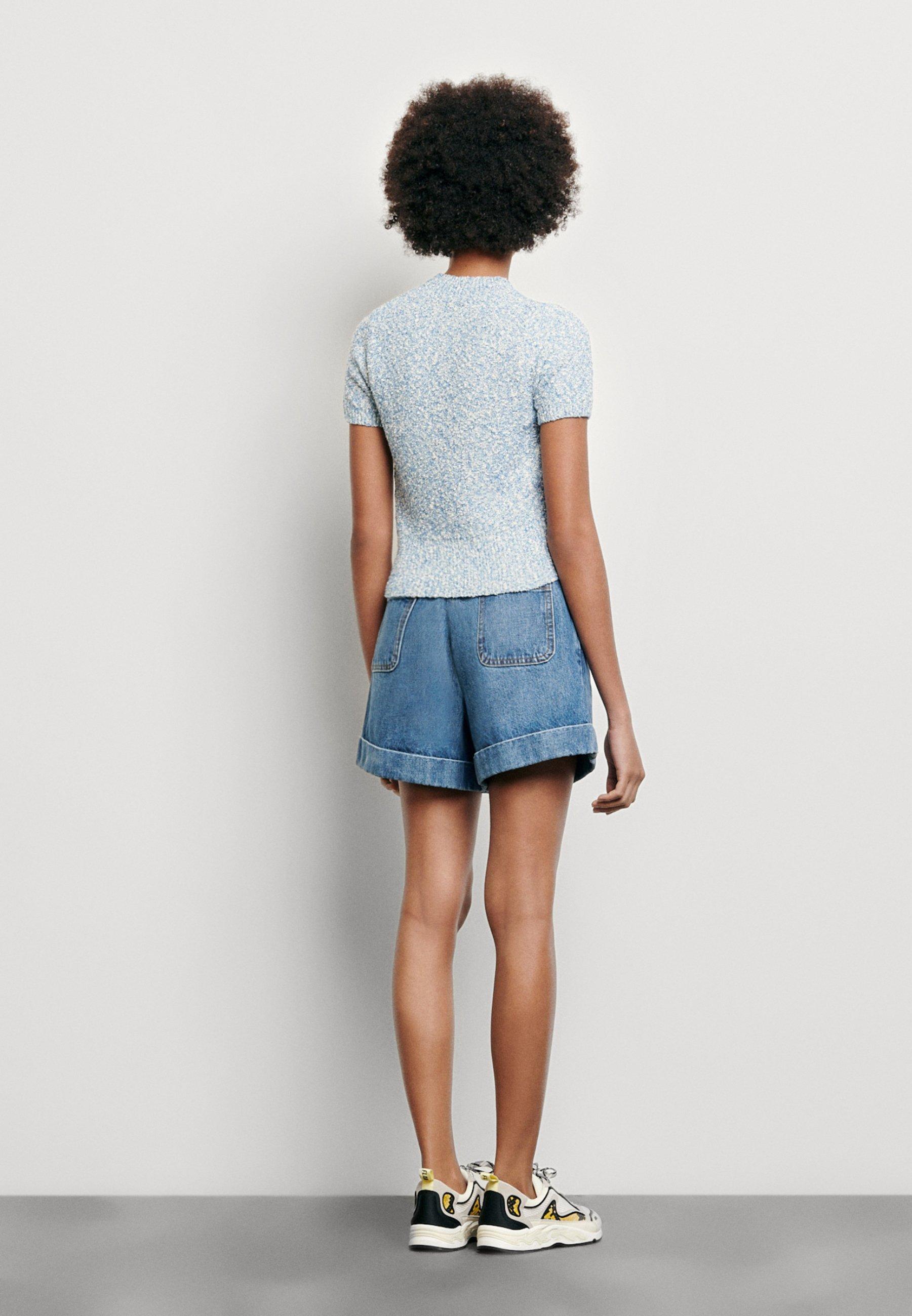 sandro GINNA - T-shirts - ciel