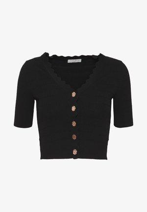 CECIL - T-shirt med print - noir