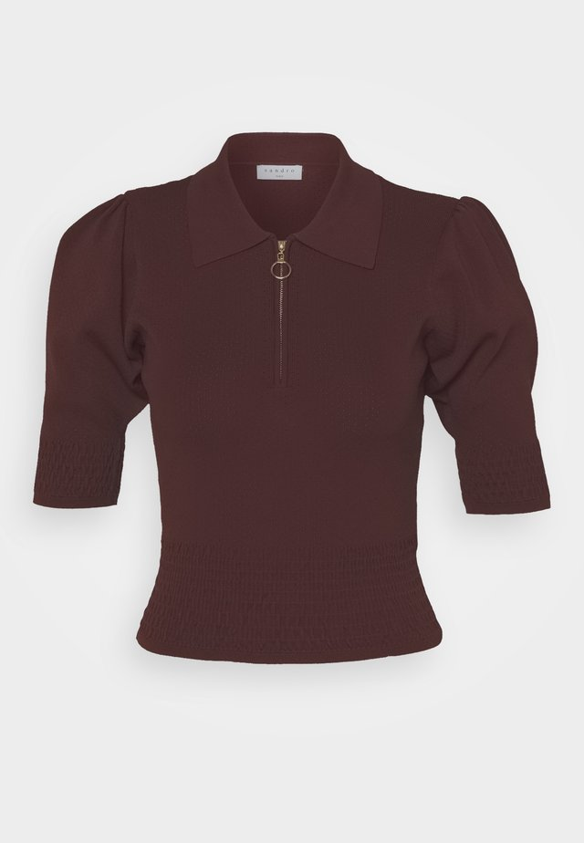 H20 NAMI - T-Shirt basic - bordeaux