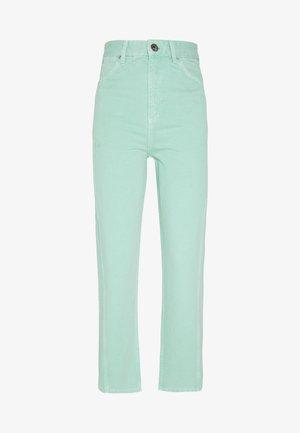 Jeansy Straight Leg - mint