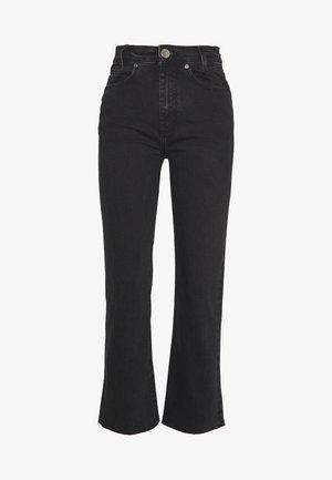 JAYN - Jeans straight leg - black denim