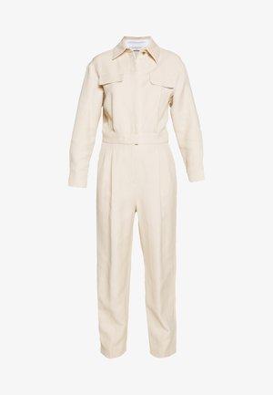 Overall / Jumpsuit /Buksedragter - beige