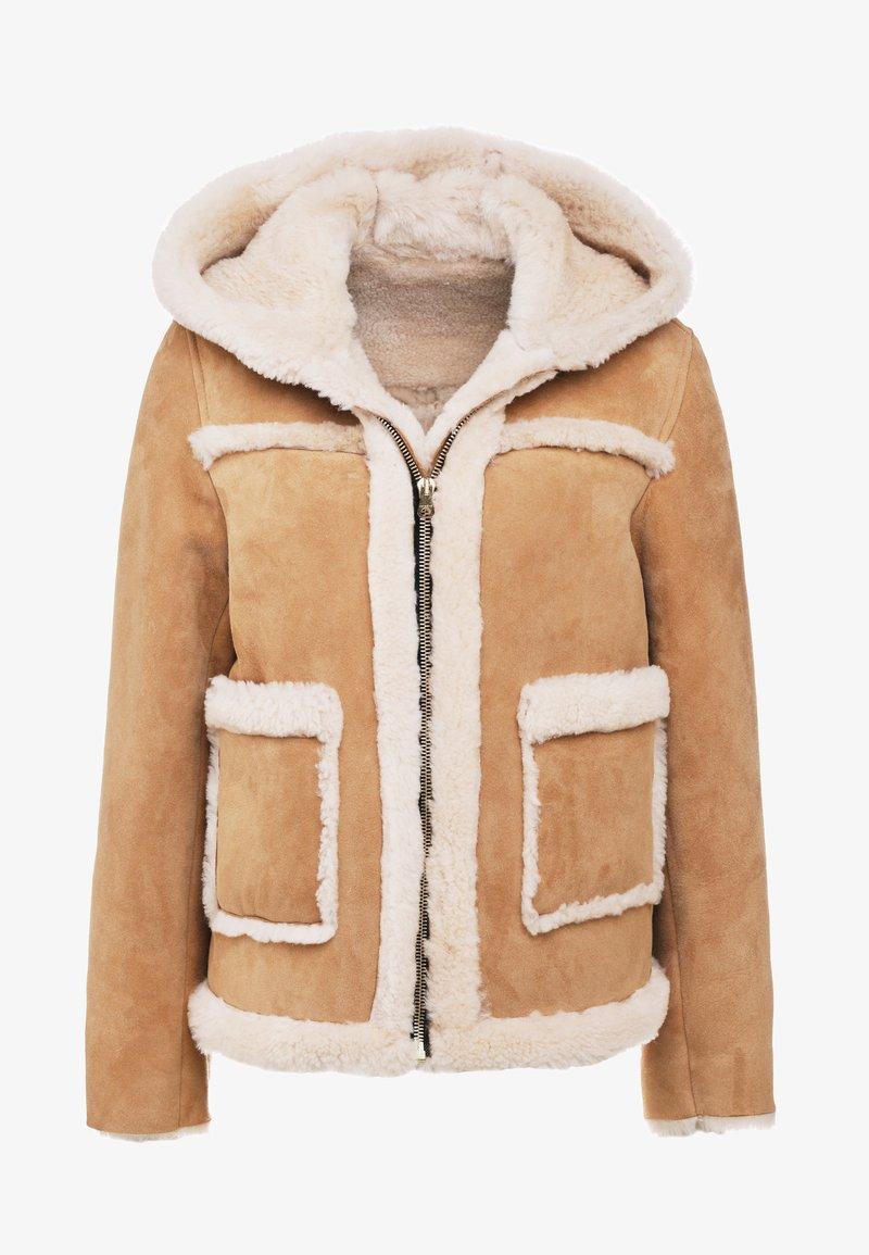sandro - SHEER - Vinterjakke - beige