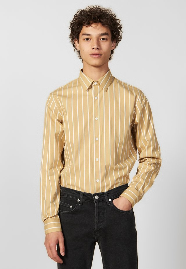 Overhemd - beige/white