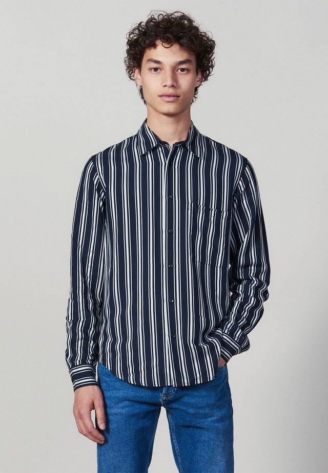 FLOW - Overhemd - navy blue