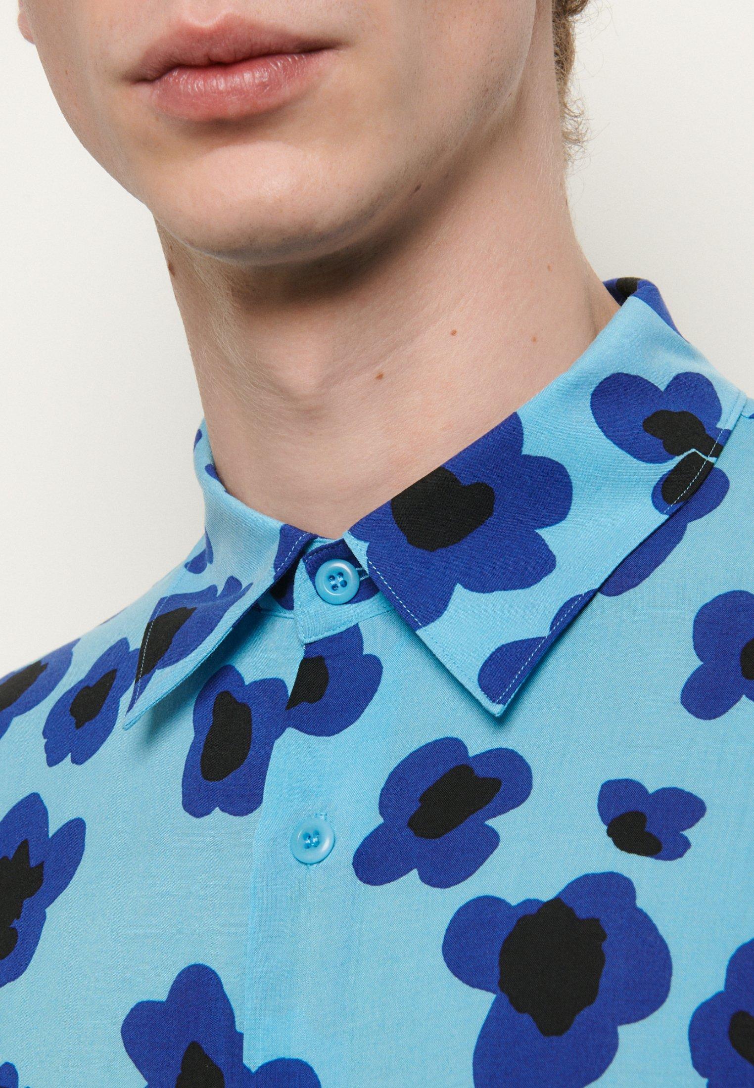 sandro TIGER CHEMISE CASUAL - Skjorte - bleu
