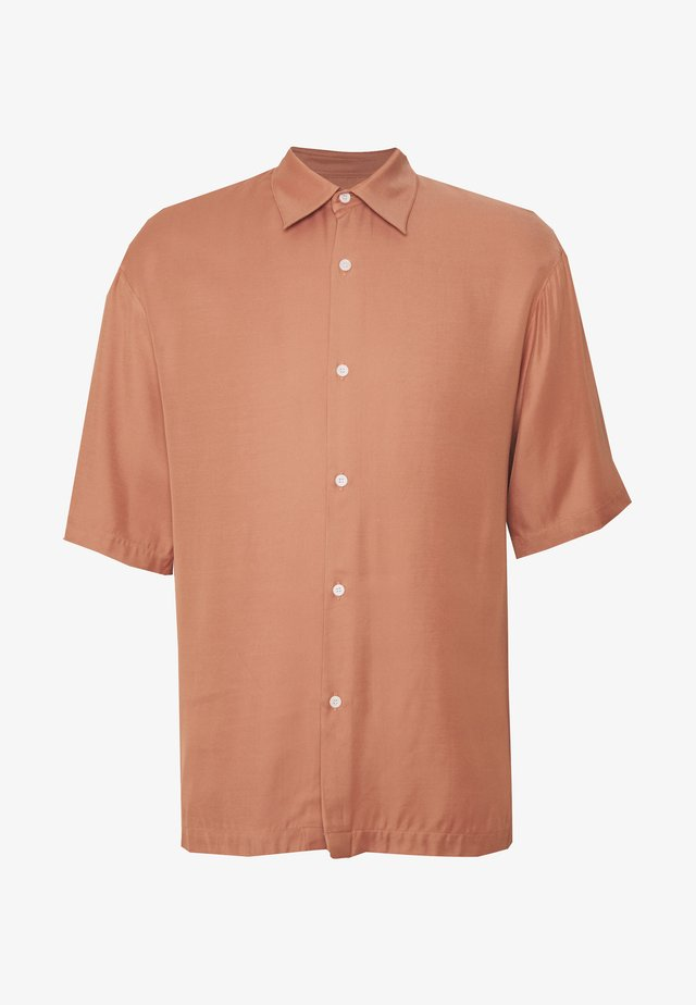 CHEMISE MANCHES COURTES OVERSIZE CASUAL - Skjorter - rose