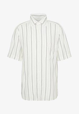 OVERSIZED CHEMISE CASUAL - Overhemd - blanc/noir