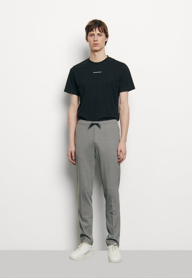 ALPHA PANTALON DE VILLE - Spodnie materiałowe - gris clair