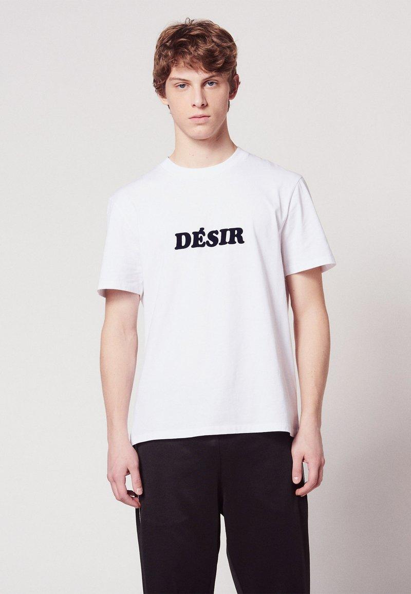 sandro - T-Shirt print - white