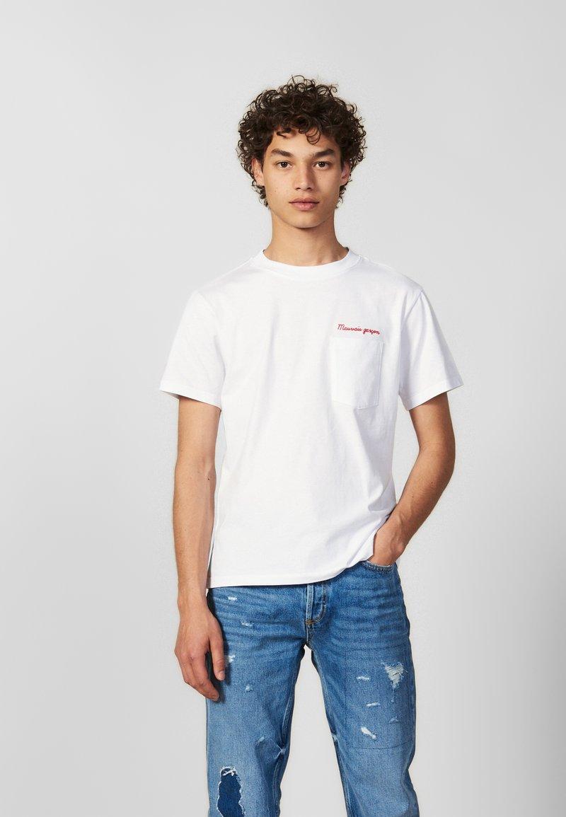 sandro - MAUVAIS GARCON - T-shirts - white