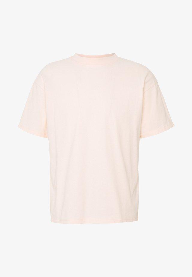 TEE - T-shirt basic - rose clair