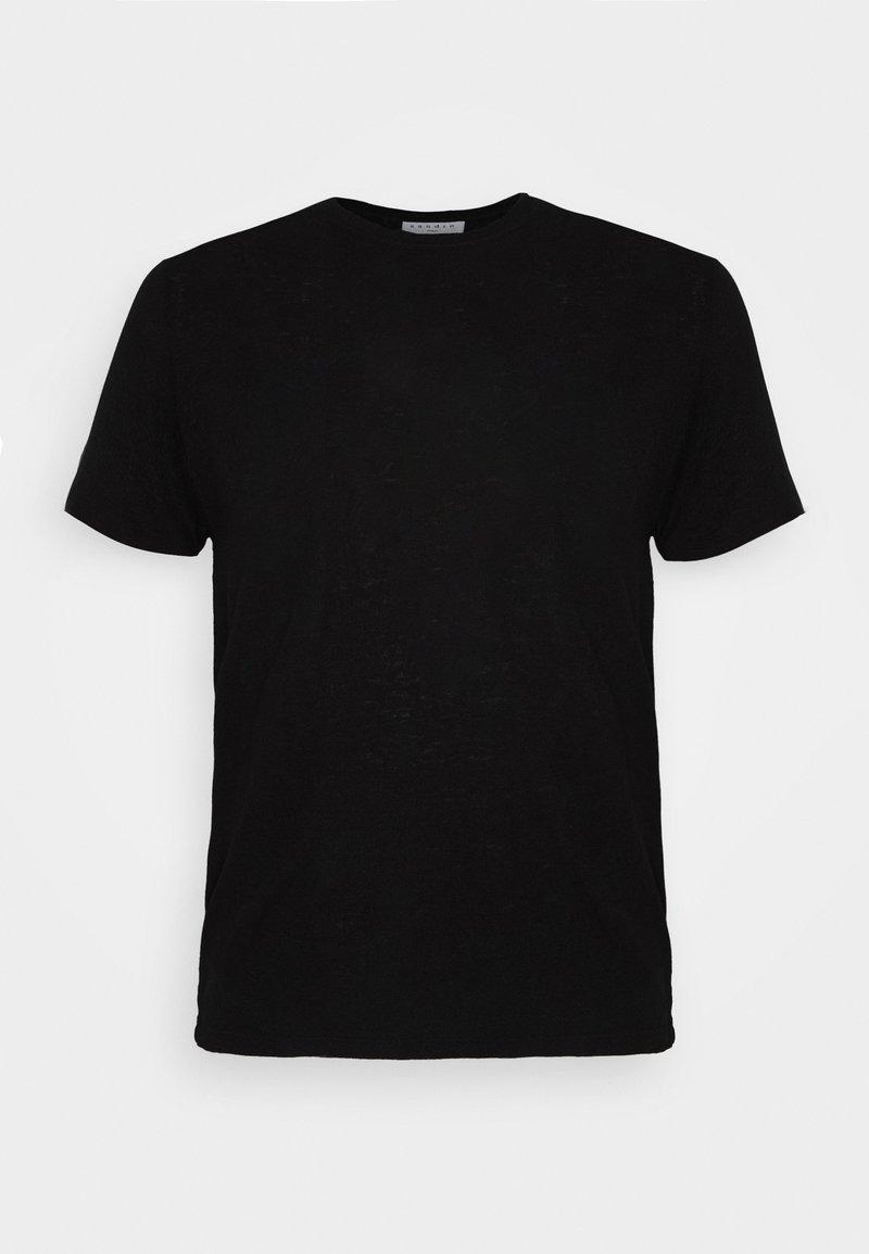 sandro - CLASH TEE - T-shirt basic - noir