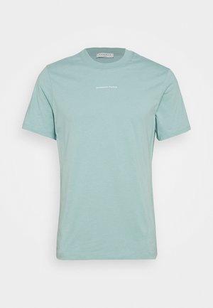 SOLID TEE  - Basic T-shirt - vert d'eau