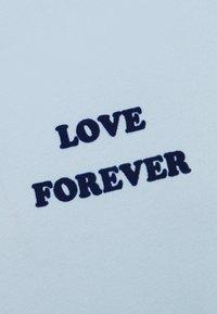 sandro - FOREVER TEE - T-Shirt print - bleu - 2