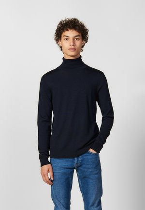 TURTLENECK - Strikkegenser - navy blue