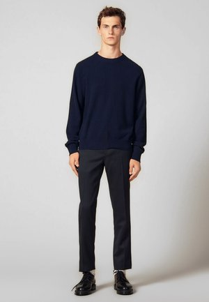 DOUBLE - Sweter - navy blue