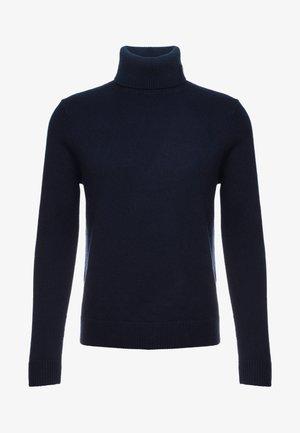 Strikkegenser - navy blue