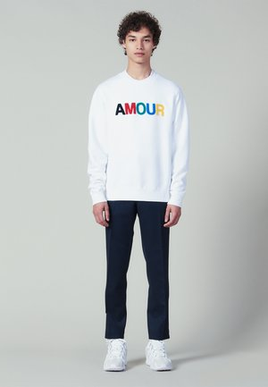 AMOUR - Sweatshirt - white