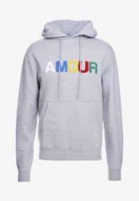 sandro - AMOUR - Bluza z kapturem - mocked grey - 0