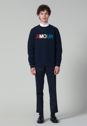 AMOUR - Bluza - navy blue