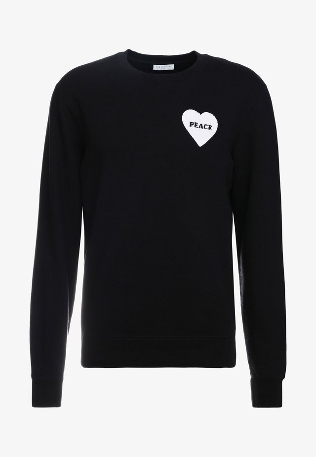 CREW PEACE - Sweater - black