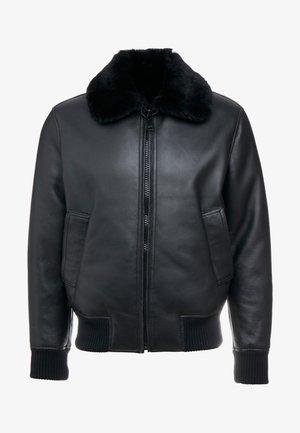 Kurtka skórzana - black