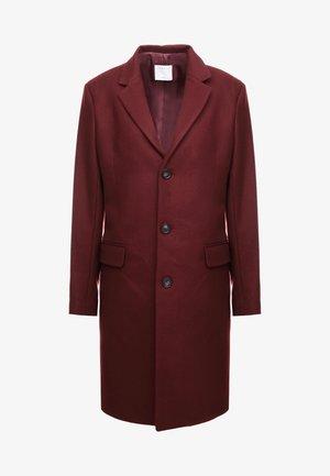 Classic coat - burgundy