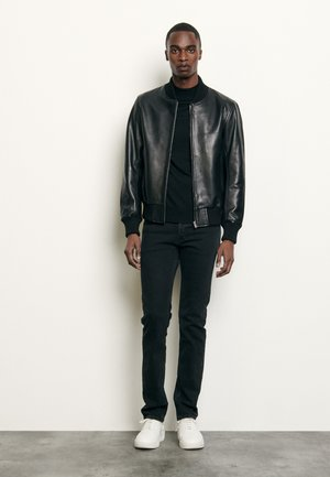 MONACO CUIR - Leren jas - noir