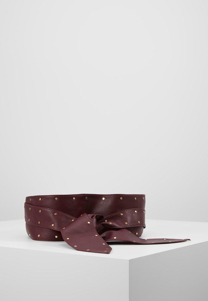 sandro - ANNAEL BELT  - Taillengürtel - burgundy