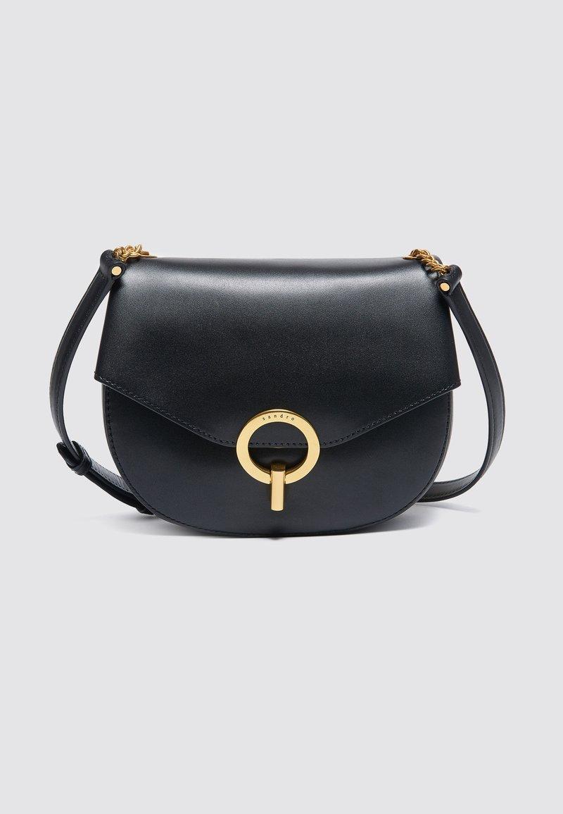 sandro - PEPITA - Across body bag - noir