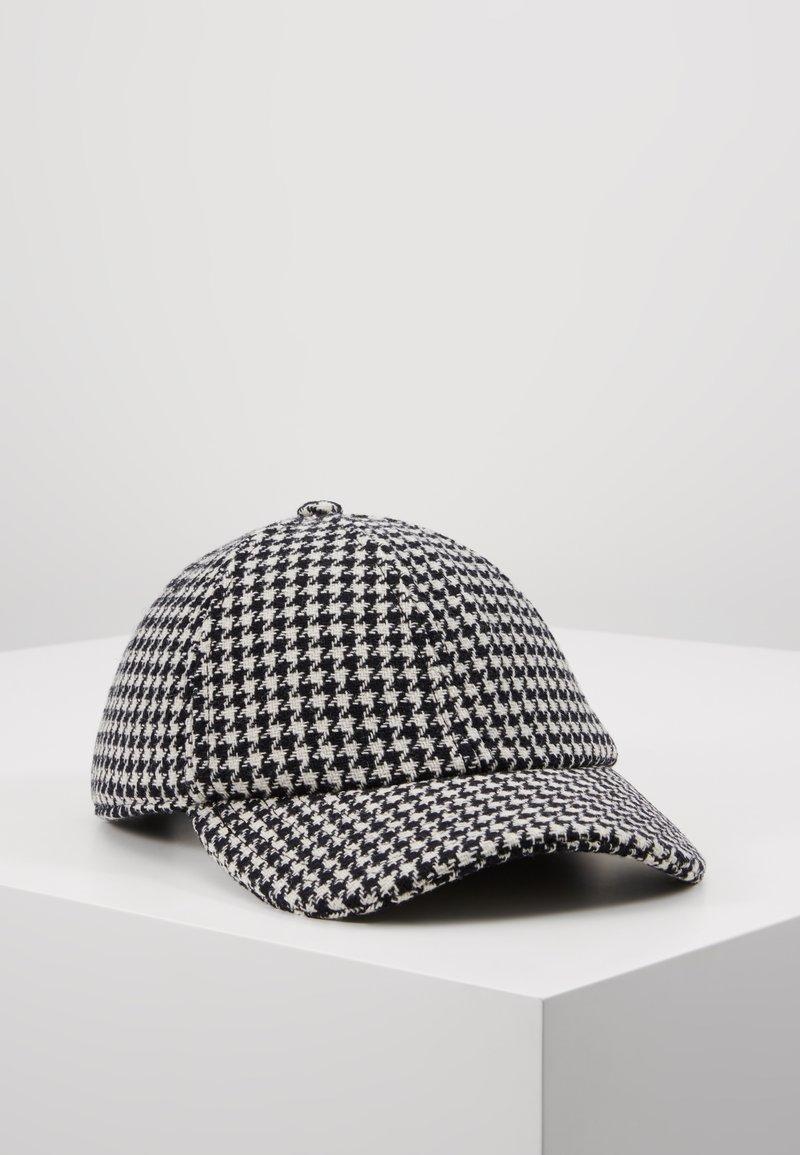 sandro - SHABO - Cap - noir/blanc