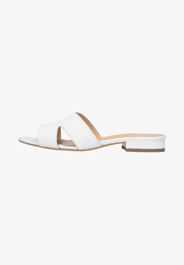 sacha - Riemensandalette - white/white