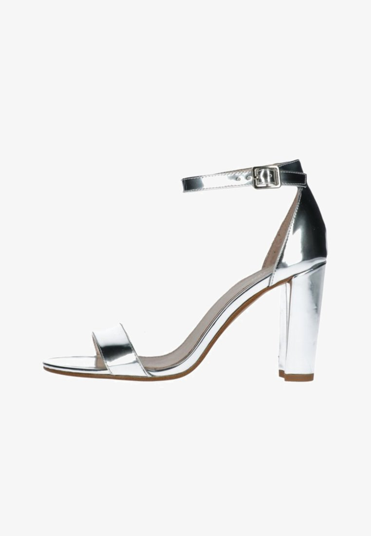 sacha - High Heel Sandalette - silver