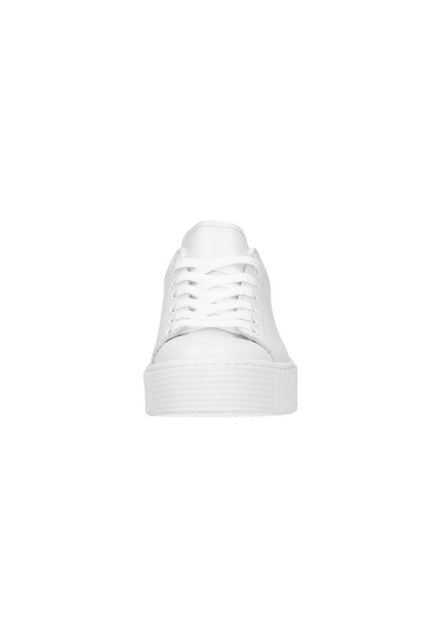 MIT LEO-DETAIL - Sneakers laag - white