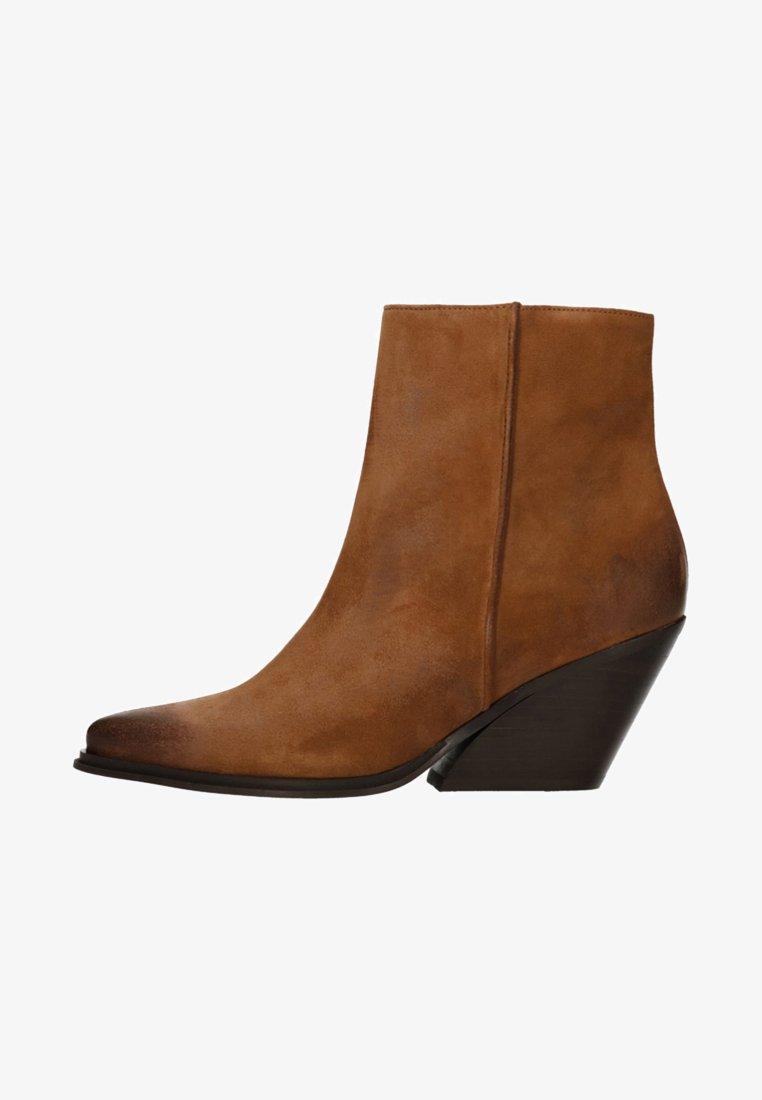sacha - MIT ABSATZ - Stiefelette - brown