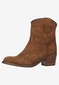 sacha - Cowboy/biker ankle boot - brown - 2