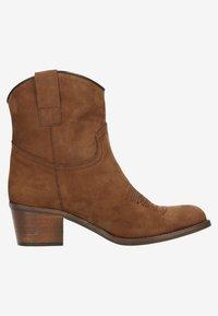 sacha - Cowboy/biker ankle boot - brown - 5