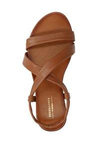 sacha - Sandals - cognac - 1