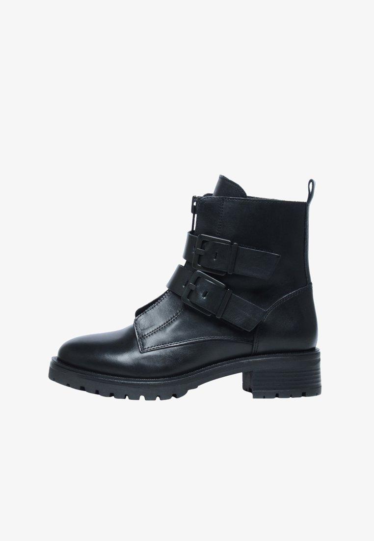 sacha - Cowboy/biker ankle boot - schwarz