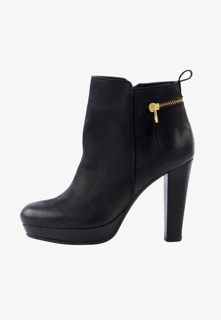 sacha - High Heel Stiefelette - black