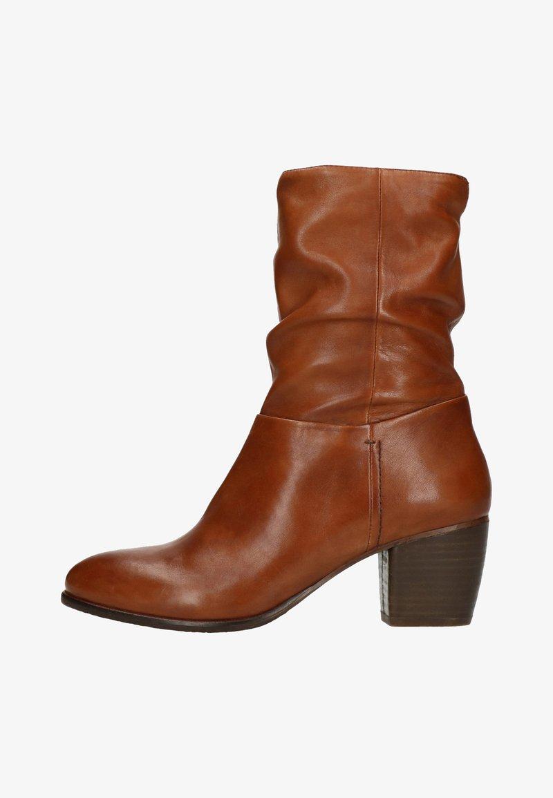 sacha - MIT ABSATZ - High Heel Stiefelette - cognac