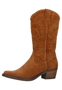 sacha - Cowboy/Biker boots - cognac - 2