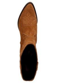 sacha - Cowboy/Biker boots - cognac - 1
