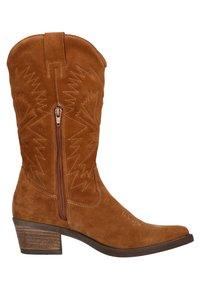 sacha - Cowboy/Biker boots - cognac - 5
