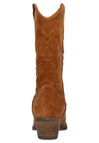 sacha - Cowboy/Biker boots - cognac - 3