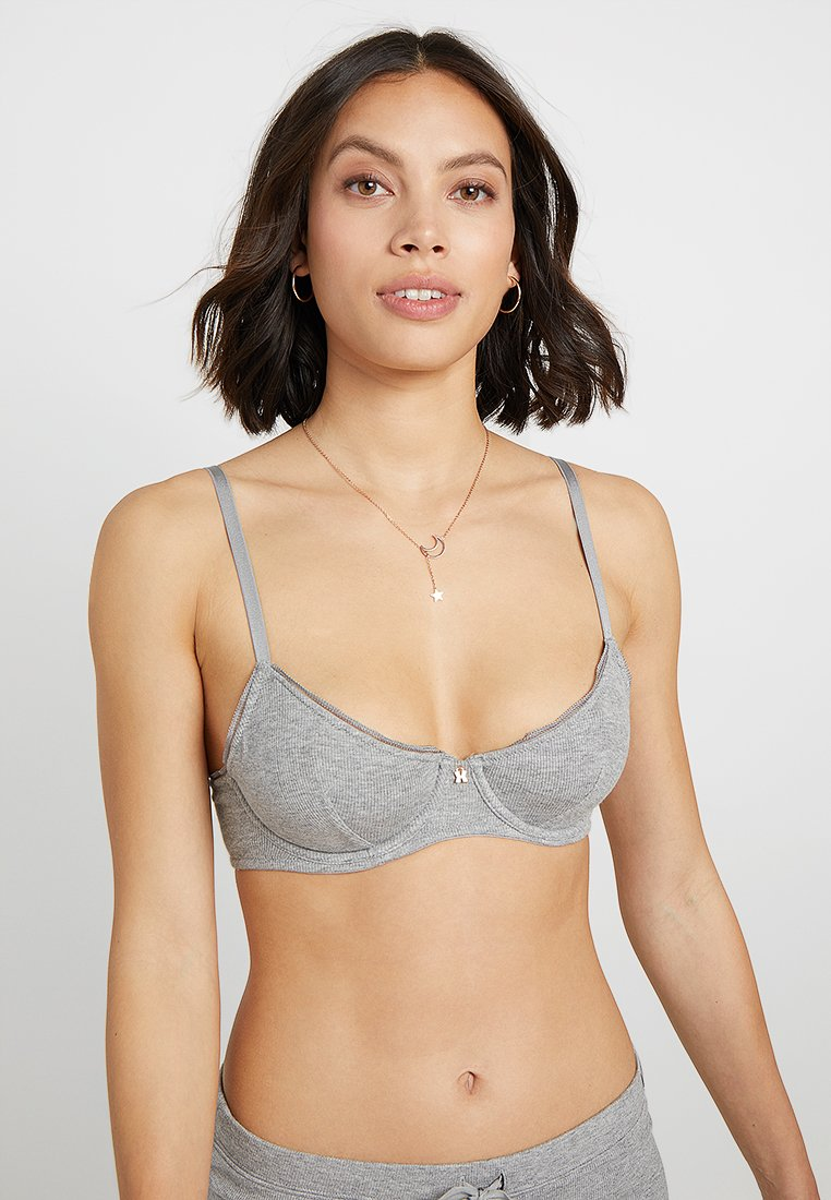 SAVAGE X FENTY  - UNLINED BRA - Underwired bra - heather grey