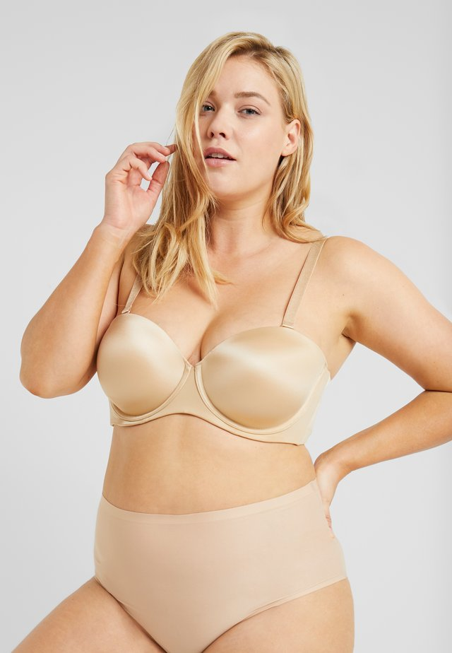 STRAPLESS BRA - Axelbandslös bh / Multifunktionsbh - honey